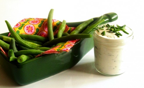 minimalistická kuchařka, food blog, recept, zdraví, zdravý, jednoduchý, minimalismus, minimalistický, jídlo, salát, fazolkový, dip, koprový, fazolky